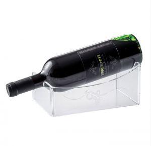 EV02601 UNIC  Espositore vino con incisione  per bottiglie ø 8,2 cm