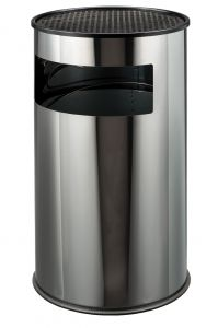 T790610 Stainless steel ashbin Large size 50 liters