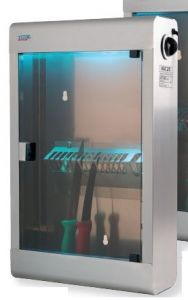 T903021 Sterilizzatore in acciaio inox 10 coltelli raggi ultravioletti
