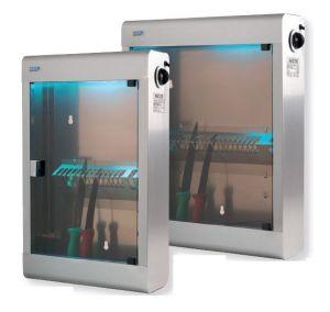 T903022 Sterilizzatore in acciaio inox 20 coltelli lampada UVC