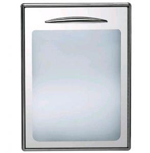 ICSPV60-SX  Sportello a vetro singolo con apertura verso sinistra guarnizione magnetica intercambiabile