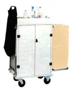 TCA 1530 Carrello portabiancheria pulizia multiuso armadiato