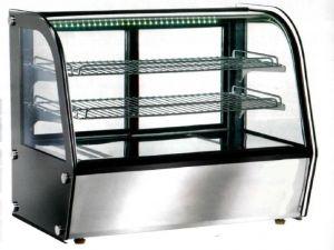 VPH160 Vitrina ventilada caliente sobremesa 88x58x67h