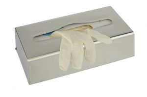 T105054 Stainless steel Tissue and gloves holder dispenser