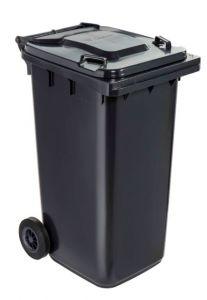 T766620 Contenitore rifiuti da esterno 2 ruote 240 litri GRIGIO