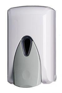 T908040 Distributore di sapone liquido push ABS bianco 0,5 litri