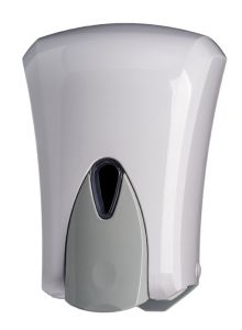 T908041 1 Liter soap dispenser white ABS