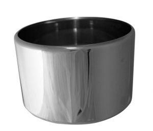 VGCV00-2 Mezza carapina in acciaio inox professionale diam.mm 200x125h