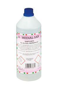 T799051 Sanimed Detergente liquido sanitizzante 1 litro (multipli 12 pz)