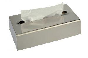 T105056 Porta fazzoletti inox satinato