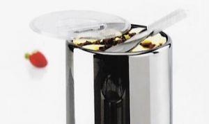 VGCPLEX Coperchio in Policarbonato per carapina gelato diametro 200 mm