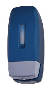 T104040STBL 0,5 Lt soap dispenser blue ABS soft-touch
