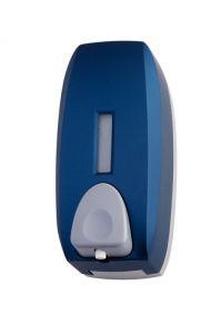 T104345 Distributore di sapone a schiuma ABS blu soft-touch 0,75 litri