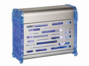T903073 Sterminatore d'insetti acciaio inox Blu con griglia elettrica Insettivor Fluo 40W