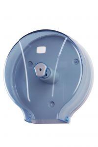 T908102 Distributore carta igienica in ABS blu 400 metri