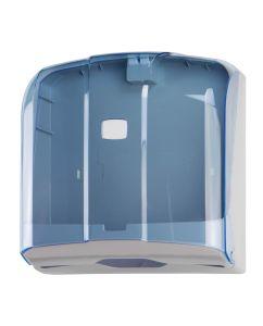 T908121 Distributore di carta asciugamani 300 fogli C-Z-M-V in ABS blu