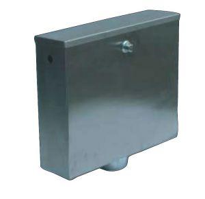 LX3190 Botón de descarga de cassette o neumático 400x112x373 mm SATIN